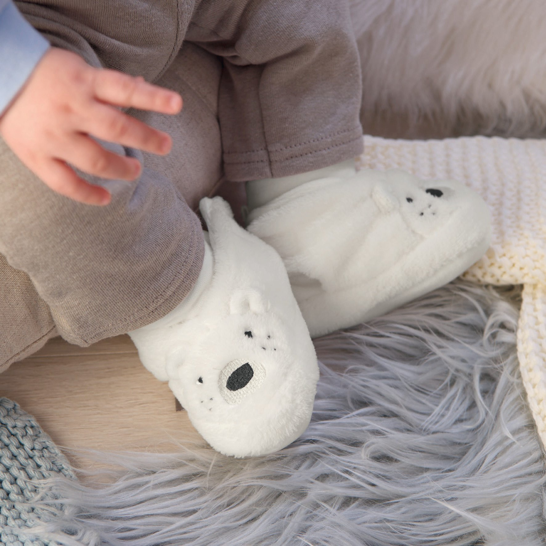 Chaussons Ourson