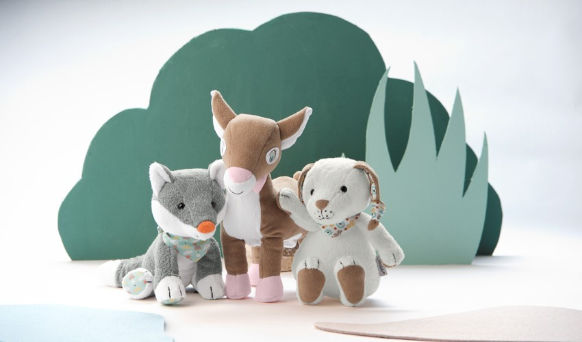 Collection Les Animaux de la Forêt - Sterntaler | Lulu Design